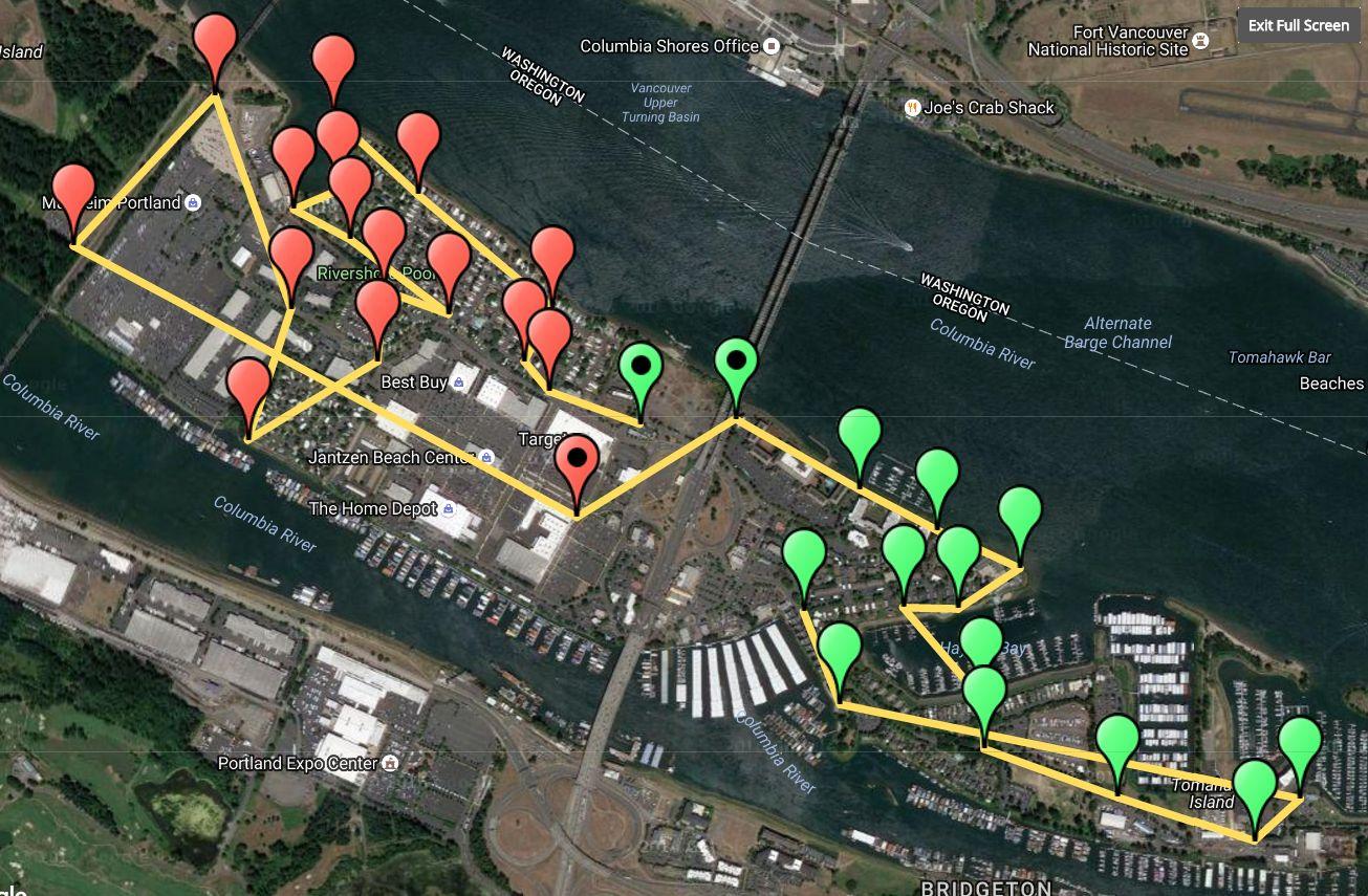 VR Walking Tour   Hayden Island Net